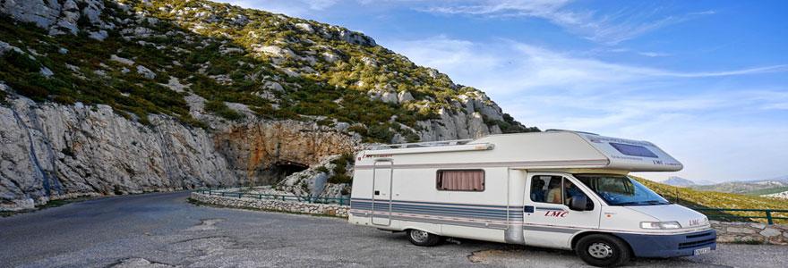 partir pour des vacances dans un camping en France